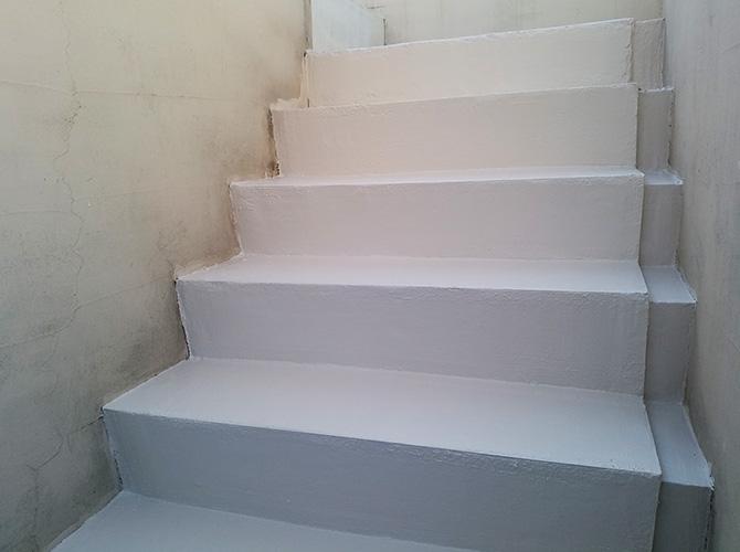 東京都渋谷区マンション階段塗装工事の施工後