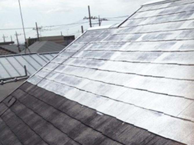今回の屋根塗装の㎡数は60~70㎡です。