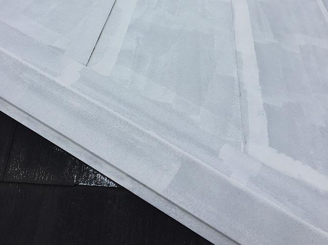 屋根鉄部の塗装