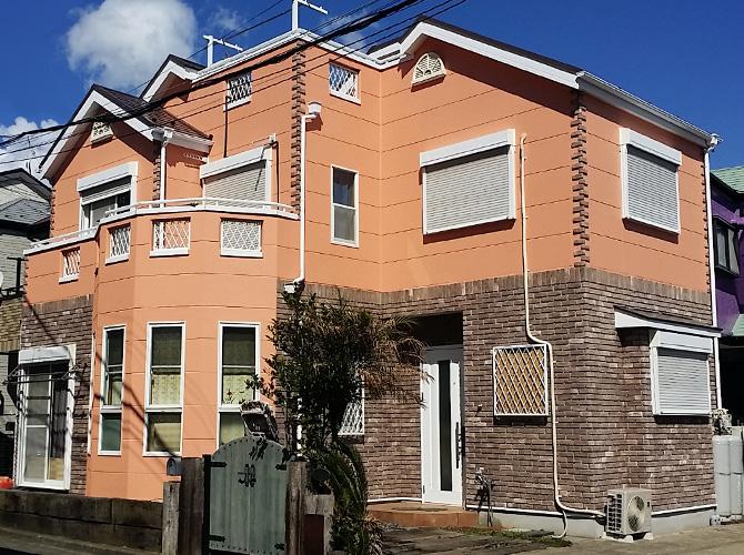 神奈川県横須賀市の外壁塗装・屋根塗装工事の施工後