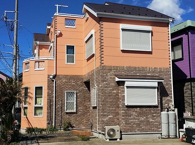 横須賀市戸建住宅の塗り替えリフォームの施工完了後
