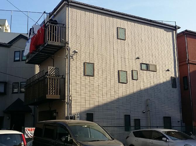 東京都文京区の外壁塗装・屋根塗装工事の施工前