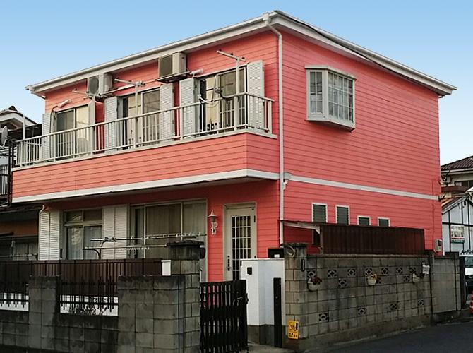 東京都足立区扇の外壁塗装・屋根塗装工事の施工後