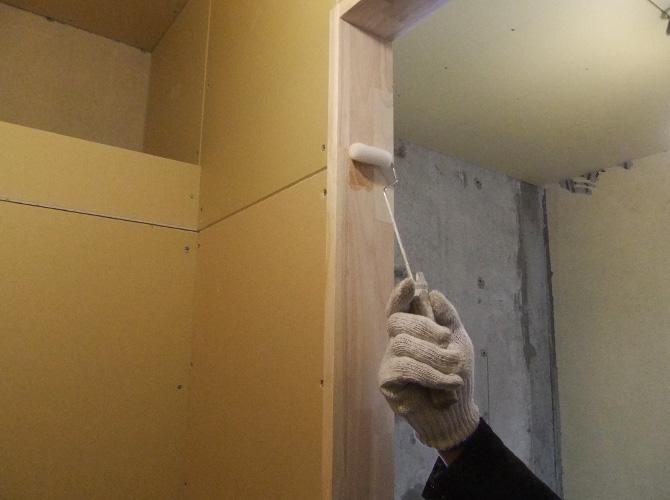 木部の塗装