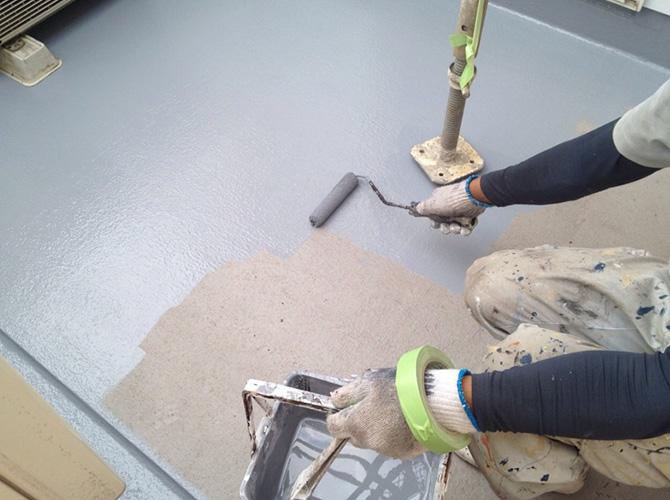 塗装工事以外にも防水工事も好評頂いております。