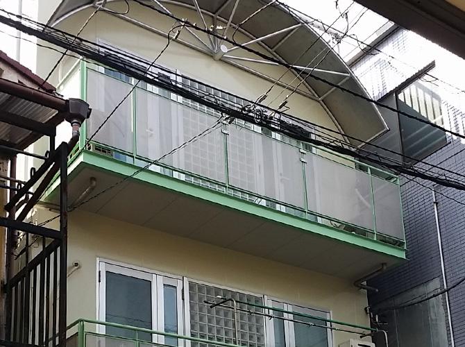 東京都江東区の外壁塗装・付帯部塗装工事の施工後