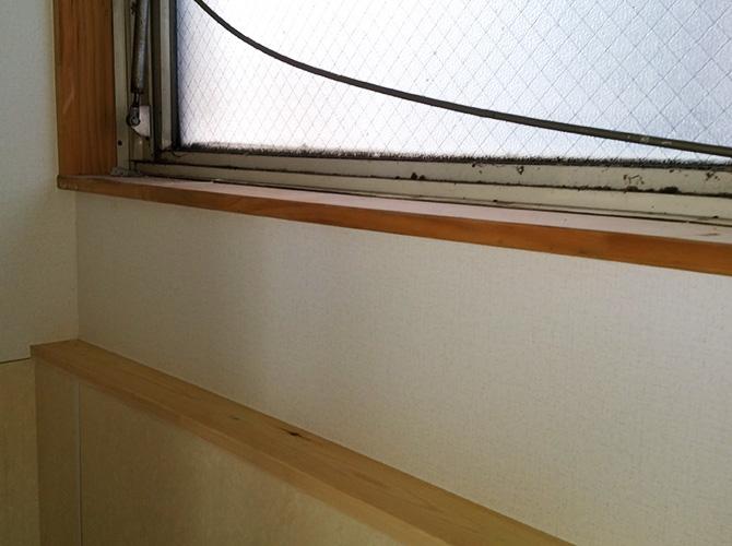 千葉県松戸市店舗内装塗装工事の施工前