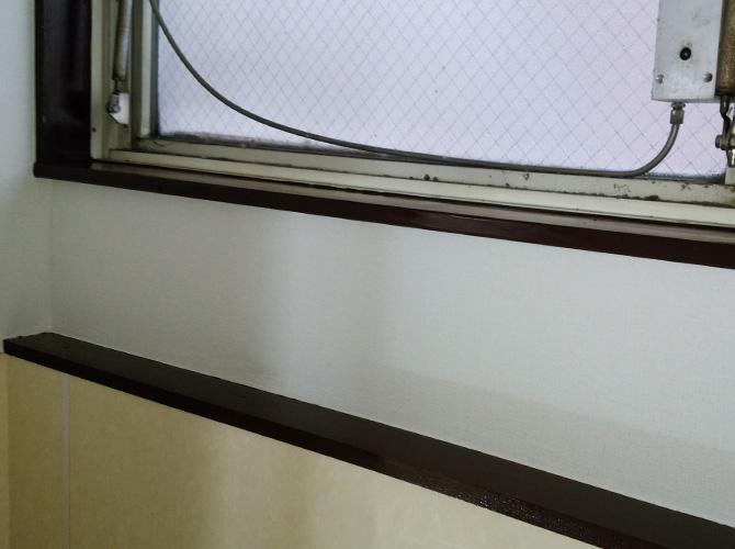 千葉県松戸市店舗内装塗装工事の施工後