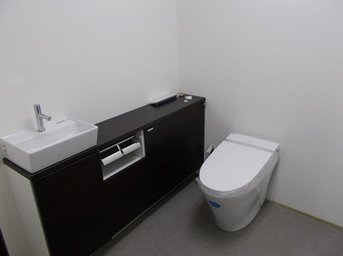 トイレの設置