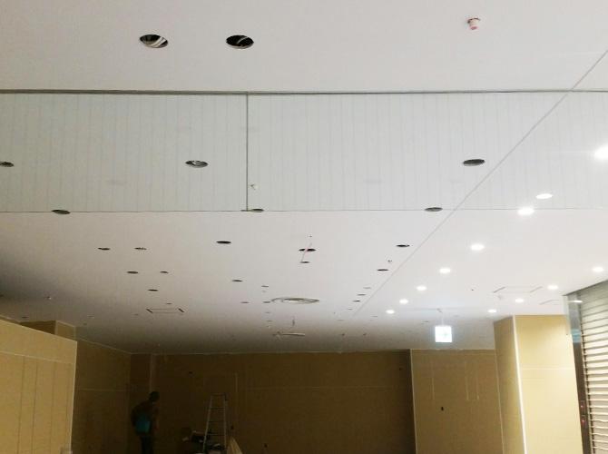 東京都武蔵野市店舗内装塗装工事の施工後