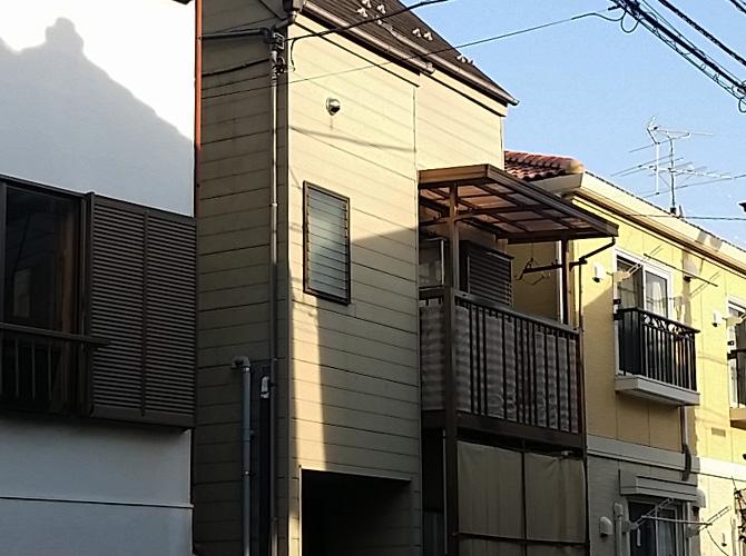 東京都足立区関原の外壁塗装・屋根塗装工事の施工前