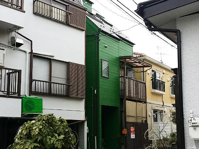 東京都足立区関原の外壁塗装・屋根塗装工事の施工後