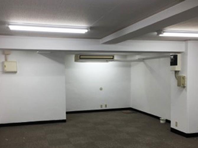 ビル内装塗装の完了後