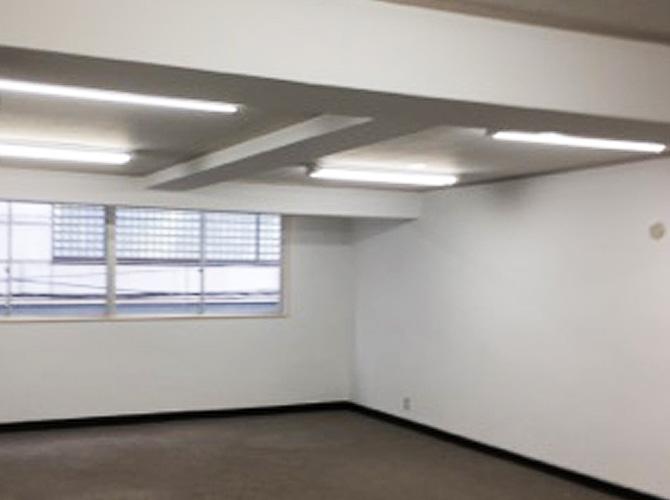 東京都千代田区オフィスビル内装塗装工事の施工後