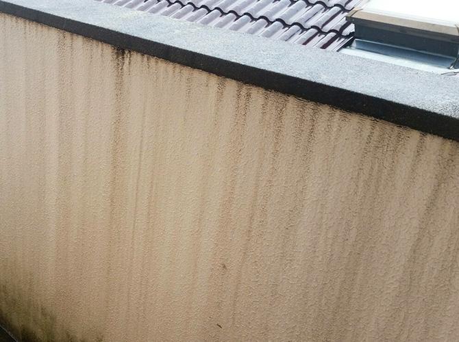 埼玉県越谷市マンションの外壁塗装工事の施工前