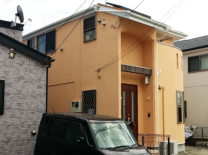 神奈川県小田原市の外壁塗装・屋根塗装工事の施工後