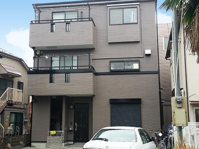 東京都足立区興野の外壁塗装・屋根塗装工事の施工後