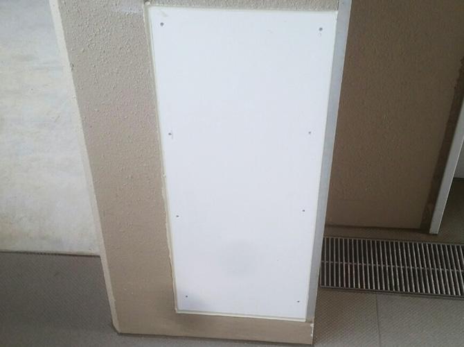 東京都武蔵村山市宿舎の壁補修・塗装工事の施工前