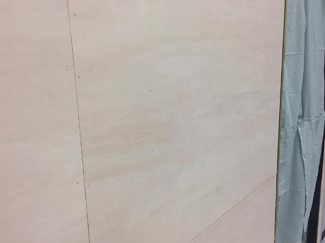港区西麻布スポーツジムの内装塗装工事の施工前