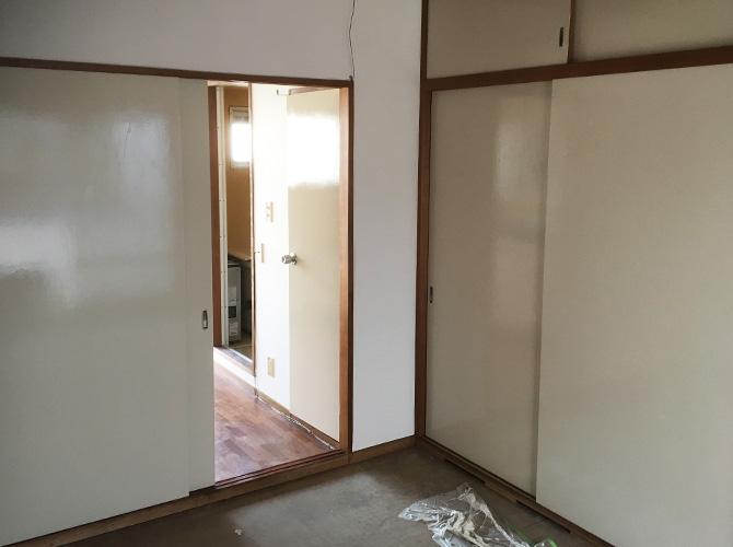 東京都足立区梅島アパートの内装塗装工事の施工後