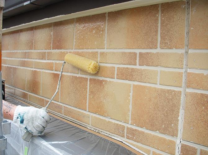 外壁はUVプロテクトクリヤーの施工です。