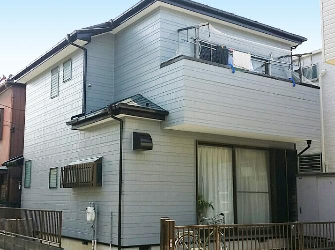 埼玉県川口市の外壁塗装・屋根塗装工事の施工後