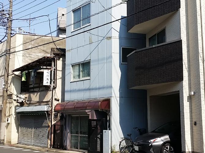 東京都台東区の外壁塗装工事の施工前