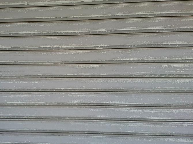 シャッター塗装の施工前