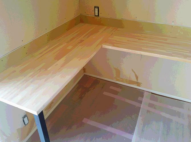 木部塗装の施工前