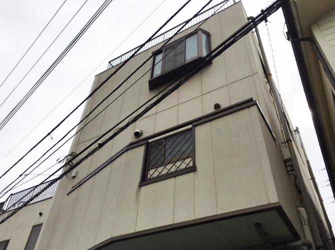 東京都足立区興野の外壁塗装・防水工事の施工前