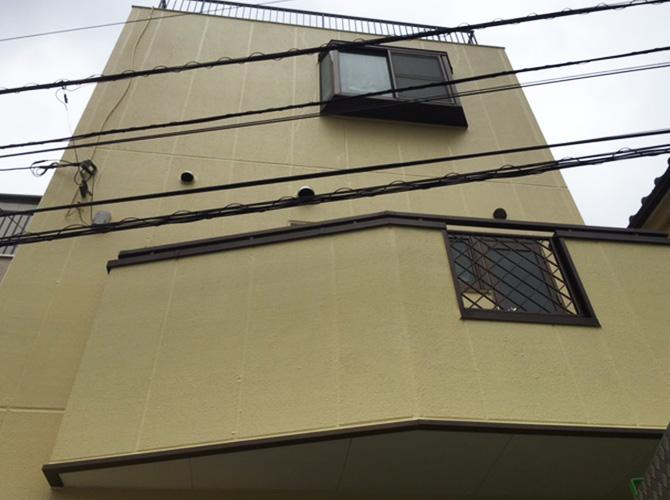 東京都足立区興野の外壁塗装・防水工事の施工後