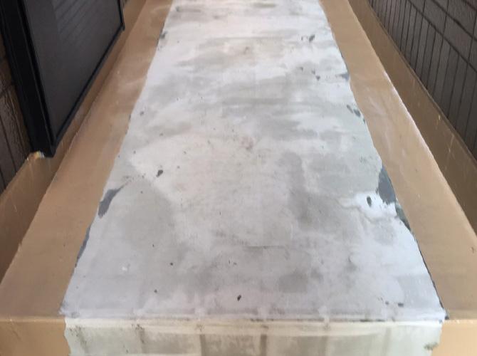 廊下の下地調整