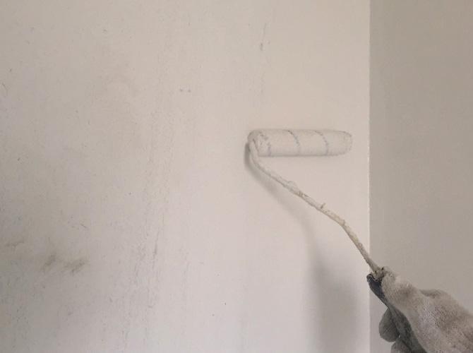 マンションの内部塗装