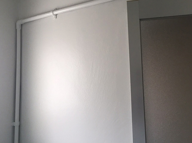 マンション室内の完了後