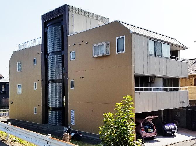 東京都葛飾区マンションの外壁塗装・シール工事の施工後