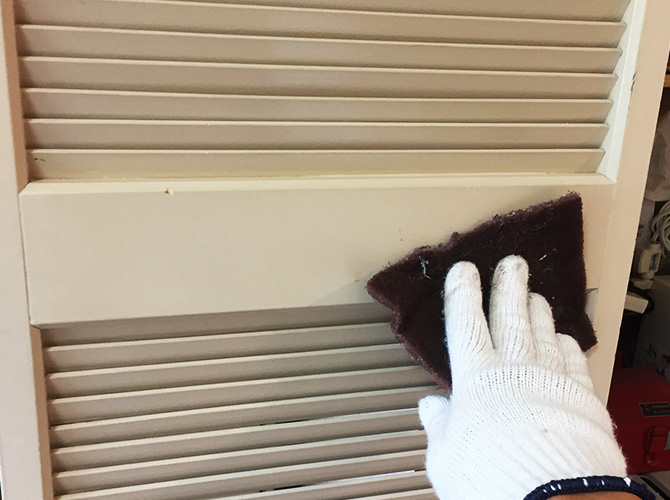 東京都昭島市マンションの内部塗装工事の施工前