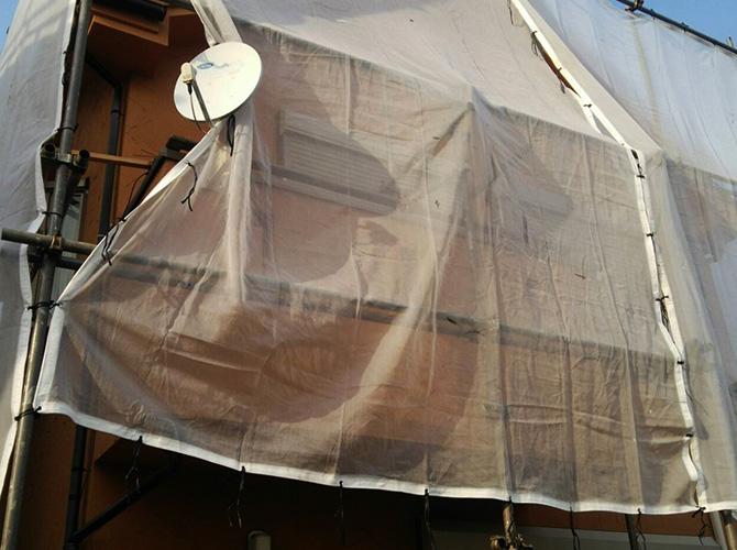 東京都足立区梅田の外壁塗装・屋根塗装工事の施工前