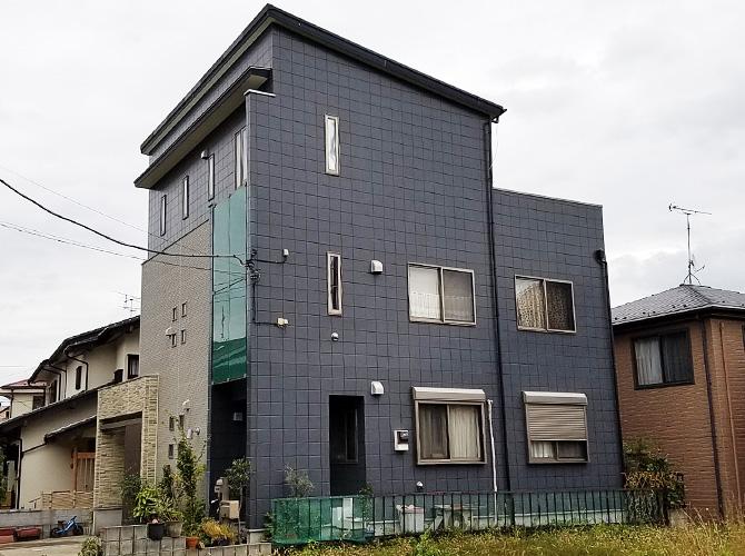 千葉県柏市戸建住宅のシール打ち替え工事の施工後