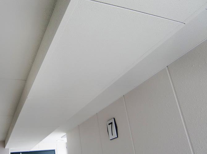 東京都墨田区新築マンションの天井塗装工事の施工後
