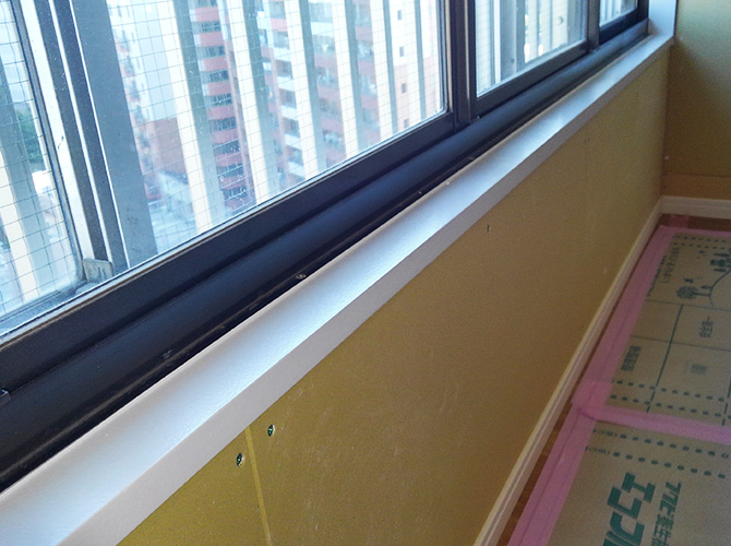 東京都千代田区マンションの内部塗装工事の施工後