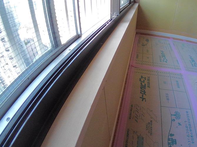 東京都江東区マンション内部塗装・ドア塗装工事の施工前
