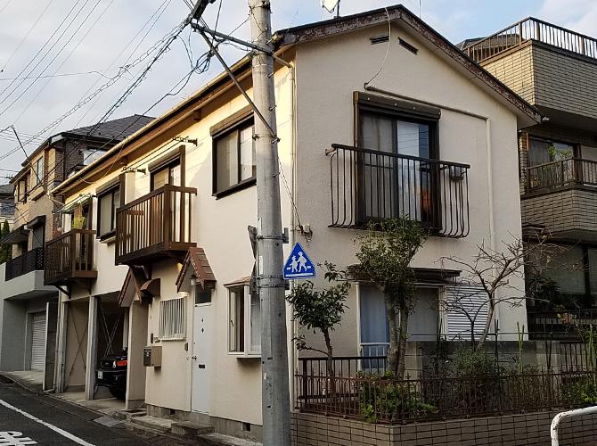 東京都大田区の屋根塗装・付帯部塗装工事の施工前