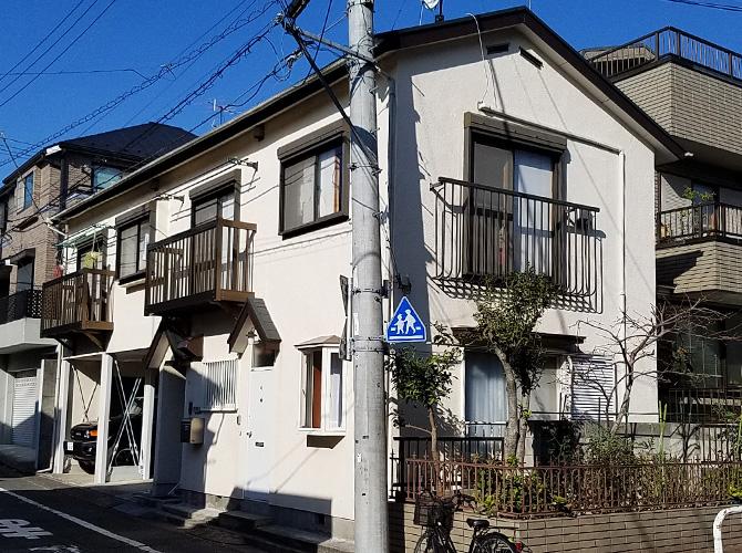 東京都大田区の屋根塗装・付帯部塗装工事の施工後