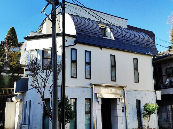東京都文京区の外壁塗装・屋根塗装工事の施工後
