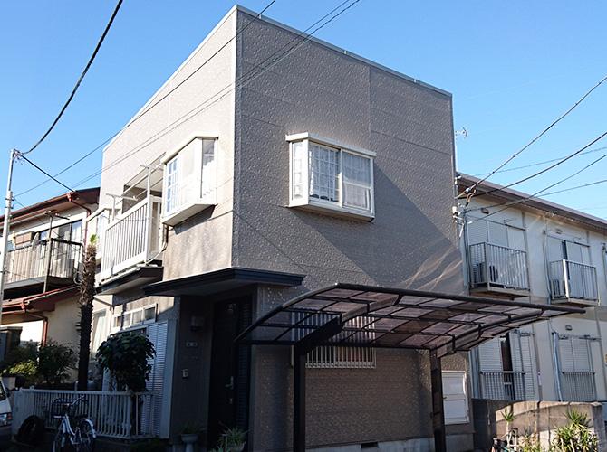 東京都足立区青井の外壁塗装・屋根塗装工事の施工後