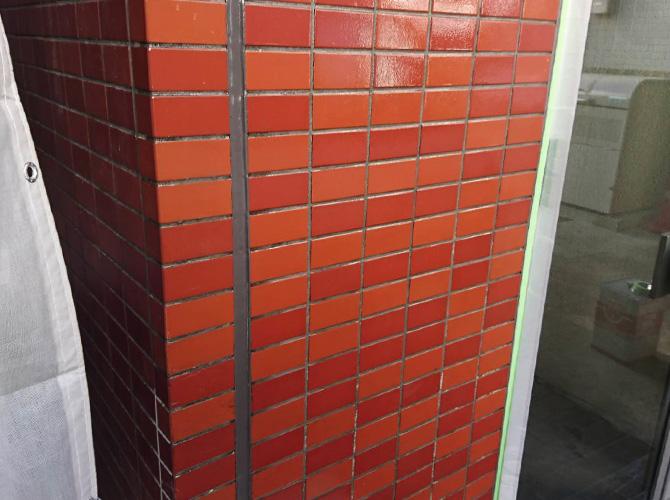東京都板橋区マンションの鉄部塗装・外壁塗装工事の施工後