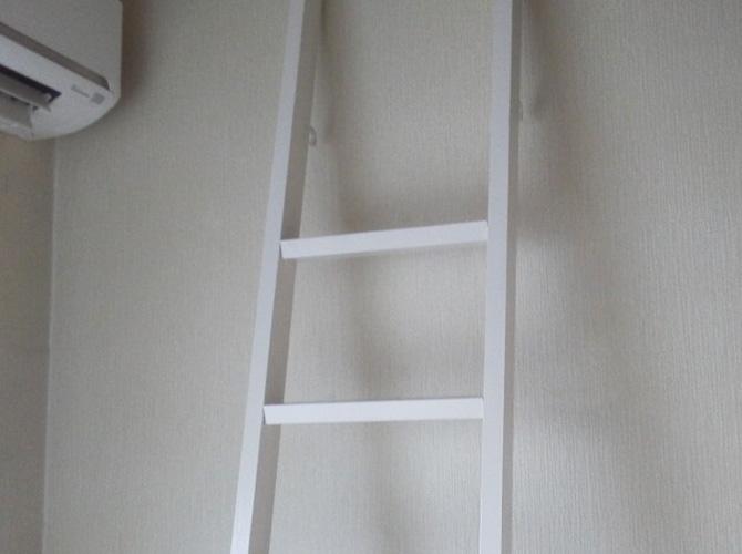 東京都練馬区アパートのロフトまわりなど内部塗装工事の施工後