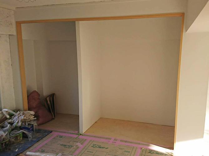 埼玉県三郷市大規模集合住宅の内部塗装工事の施工後