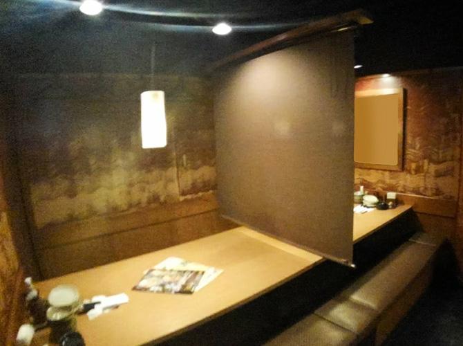 個室の塗装前