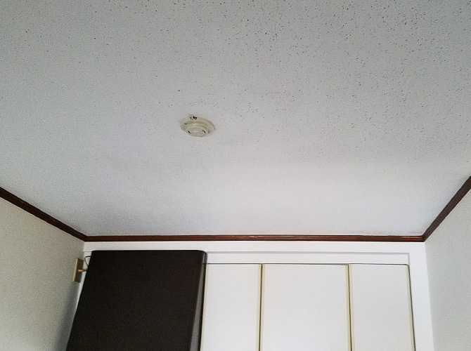 東京都練馬区戸建住宅の天井塗装工事の施工後